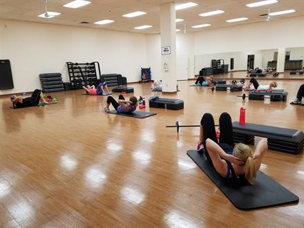 We have a large variety of group fitness classes.