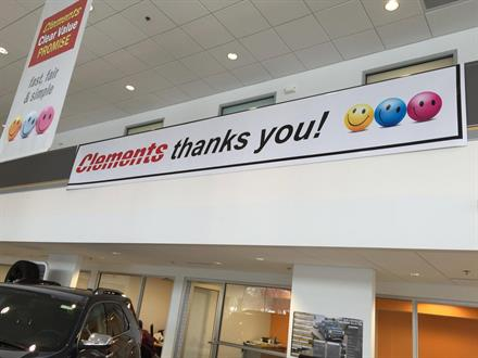 "Clements Chevrolet ""Customer Appreciation"" Banner"