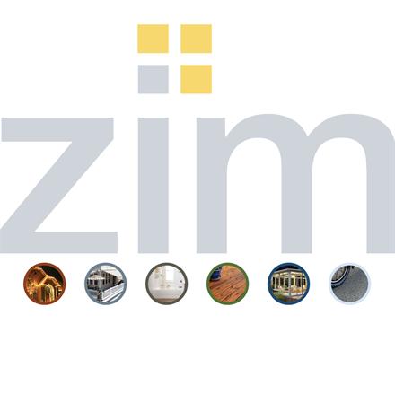 Zimprovements branding and brochure