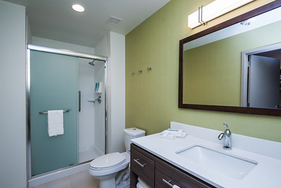 King One Bedroom Suite Bathroom Area