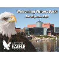 National Eagle Center to reopen to visitors June 25th