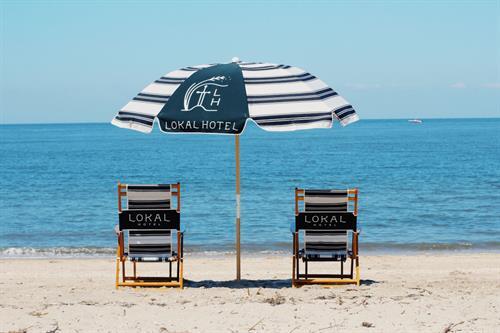 Beach Service in Prime Season