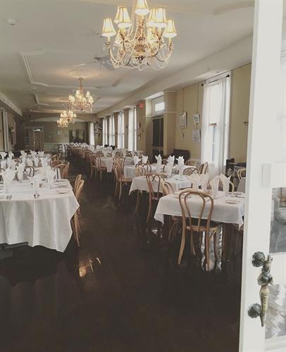 The elegant Magnolia Room Restaurant