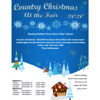 CANCELLED Country Christmas at the Fair