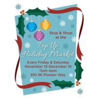 Pop Up Holiday Market