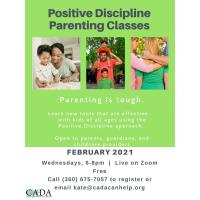 Positive Discipline Parenting Classes