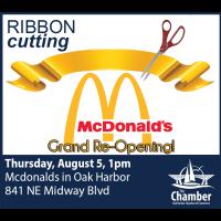 McDonald's Ribbon Cutting