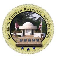 Independence Day Fireworks Show hosted by Gadsden-Etowah Patriots Association