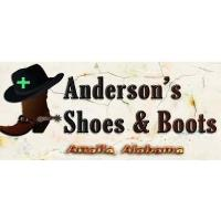 50th Anniversary Sale at Anderson's Shoes & Boots
