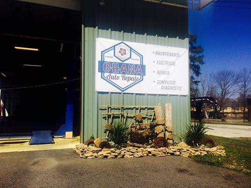 Ohana Auto Repair believes in curb appeal. Check out our recently updated garden
