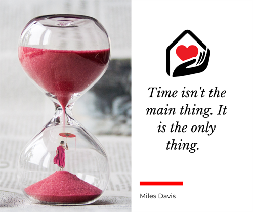 Times is precious! Allow us to help keep your loved one at home.