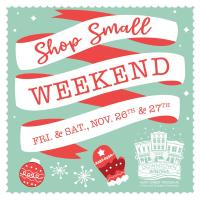 Shop Small Weekend Registration
