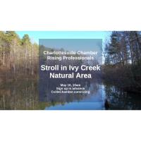 Rising Professionals Stroll in Ivy Creek Natural Area! Space Limited
