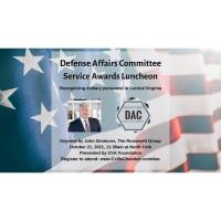 Chamber Defense Affairs Committee (DAC) Service Awards Luncheon