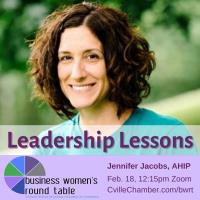 Business Women's Round Table - Leadership Lessons with Jennifer Jacobs