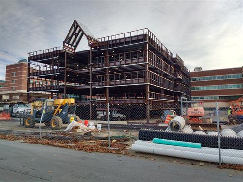 Winchester Medical Center - Medical Office Building 1 - Structural Design & Envelope Commissioning