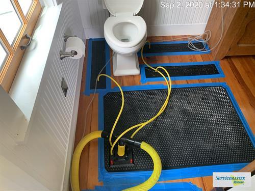 Water Damage Mitigation - Hardwood Floor Specialty Drying