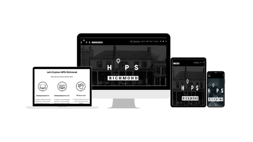 HiPS Landing Page