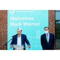 WillowTree at Woolen Mills Celebrates Completion, Hosts Senator Mark Warner