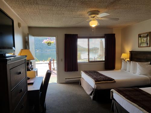 Lakeside Motel Room