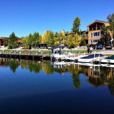 Lake House & Lakeside Cabins