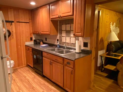 The Getaway Suite (unit 8) Kitchen.