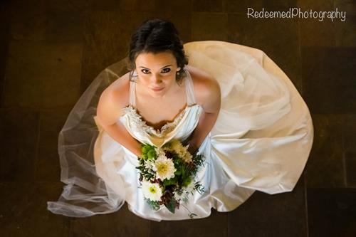 Winter Wedding at the Lodge  Photo courtesy of Redeemed Photography and flowers courtesy of The Stalk Market