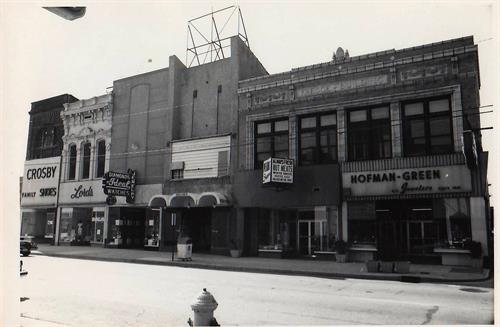 The old store down on the Core Block back in the 60's!
