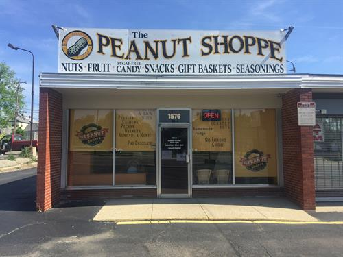 Today's storefront at 1576 E. Main St. Springfield OH 45503