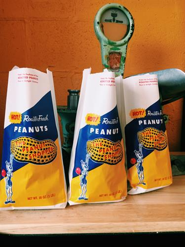 Peanuts in the Shell in our old fashioned bags!. Yum!!