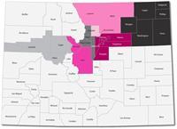 Komen Colorado serves 72% of Colorado's population in a 22-county service area.