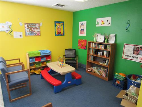 Our children's area.