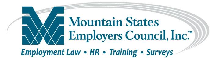 Mountain States Employers Council
