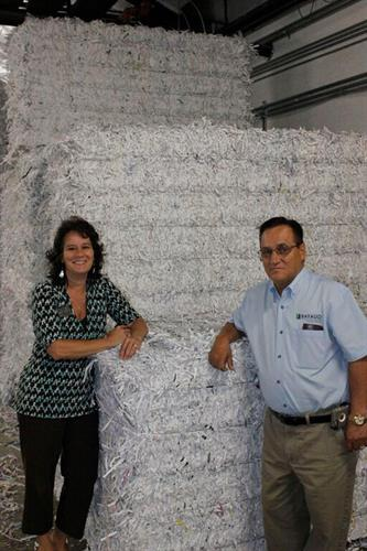 Staff here to help you with your shredding needs