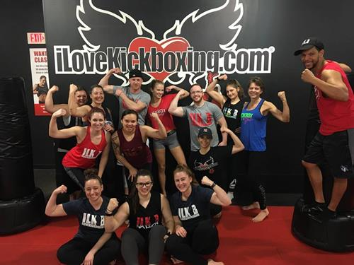 iLoveKickboxing training!