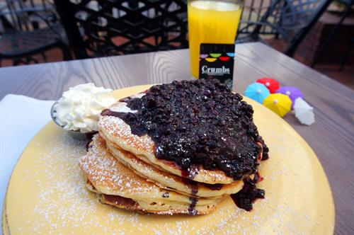 Blueberry Explosion Pancakes