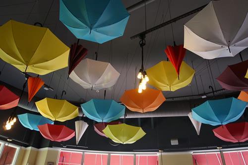 Crumbs Umbrella Ceiling