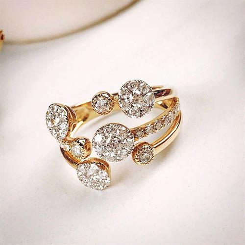 Fun diamond fashion ring!