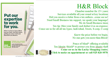 H & R Block Tax Services