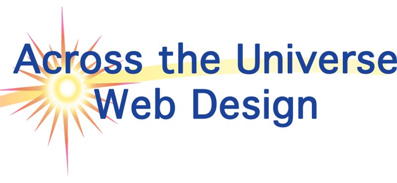 Across the Universe Web Design