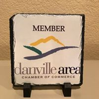 Promotional Edge provided the Danville Area Chamber with new slate member plaques