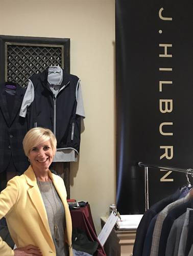 Representing J.Hilburn at Vendor Fairs introduces me to new clients.