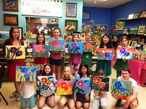 Summer Art Camp 2016