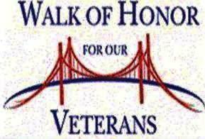 Walk of Honor for our Veterans on Armed Forces Day - 3rd SAT in May - Join us!