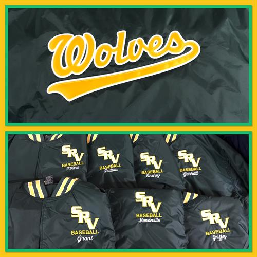 Team Jackets with Tackle Twill back & Embroidery front