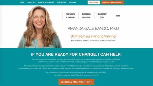 Dr. Amanda Bando, Psychologist