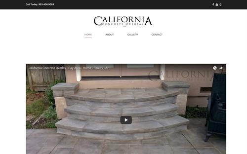 California Concrete Overlay