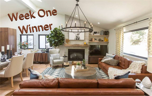 HGTV Brother vs. Brother, Season 6 (Week One challenge winner- Living Room)
