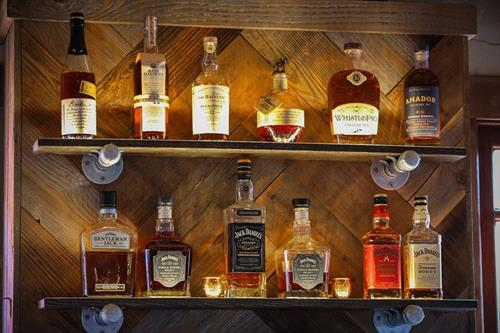 Whiskey Collection from Worth Ranch