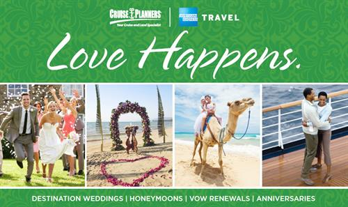 Cruise Planners Weddings Honeymoons Vow Renewals Anniversaries